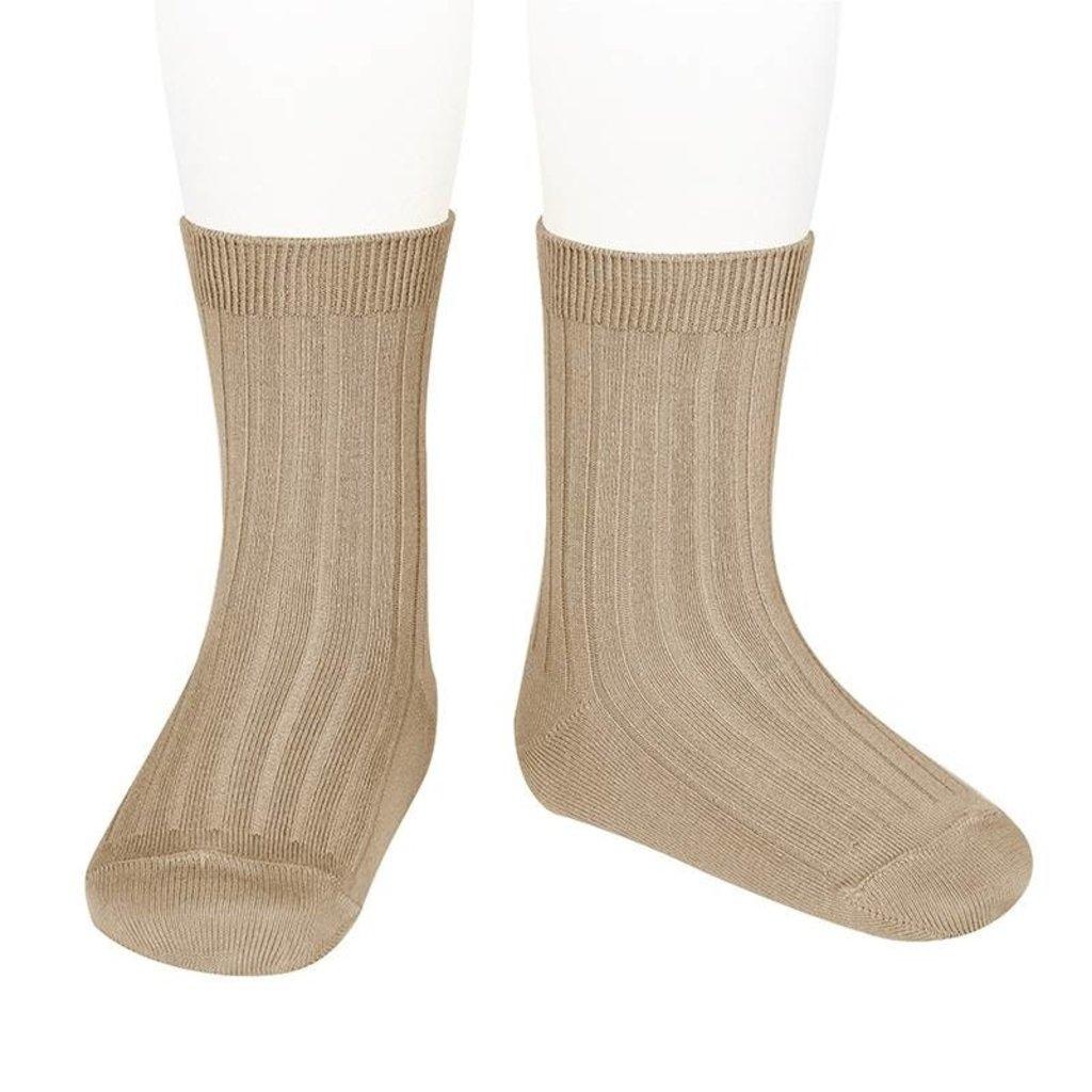 Condor Basic Rib Short Socks