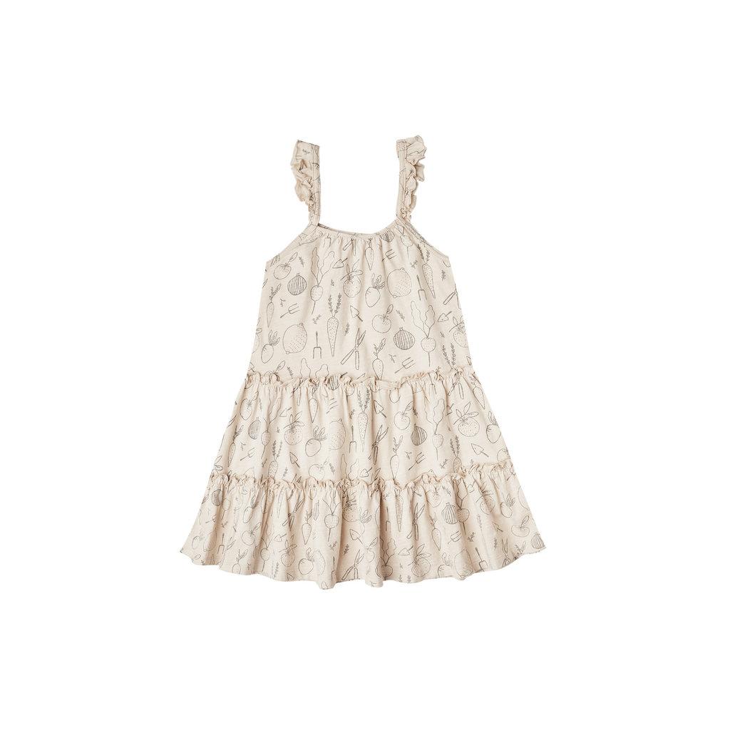Rylee & Cru  Tiered Jersey Dress