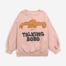 bobo choses  Girl Talk sweatshirt