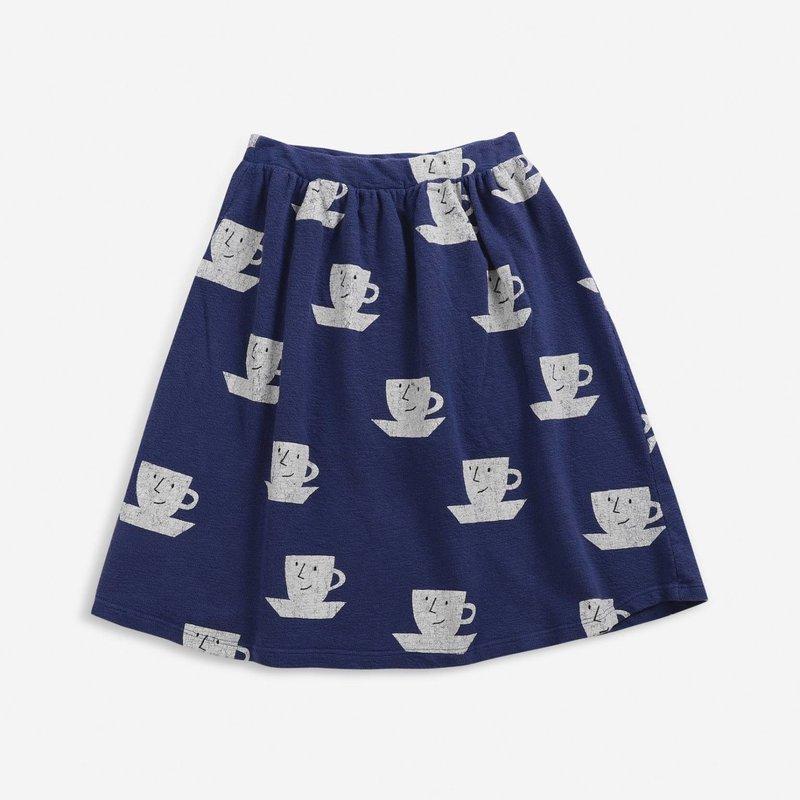 bobo choses Cup Of Tea All Over midi skirt