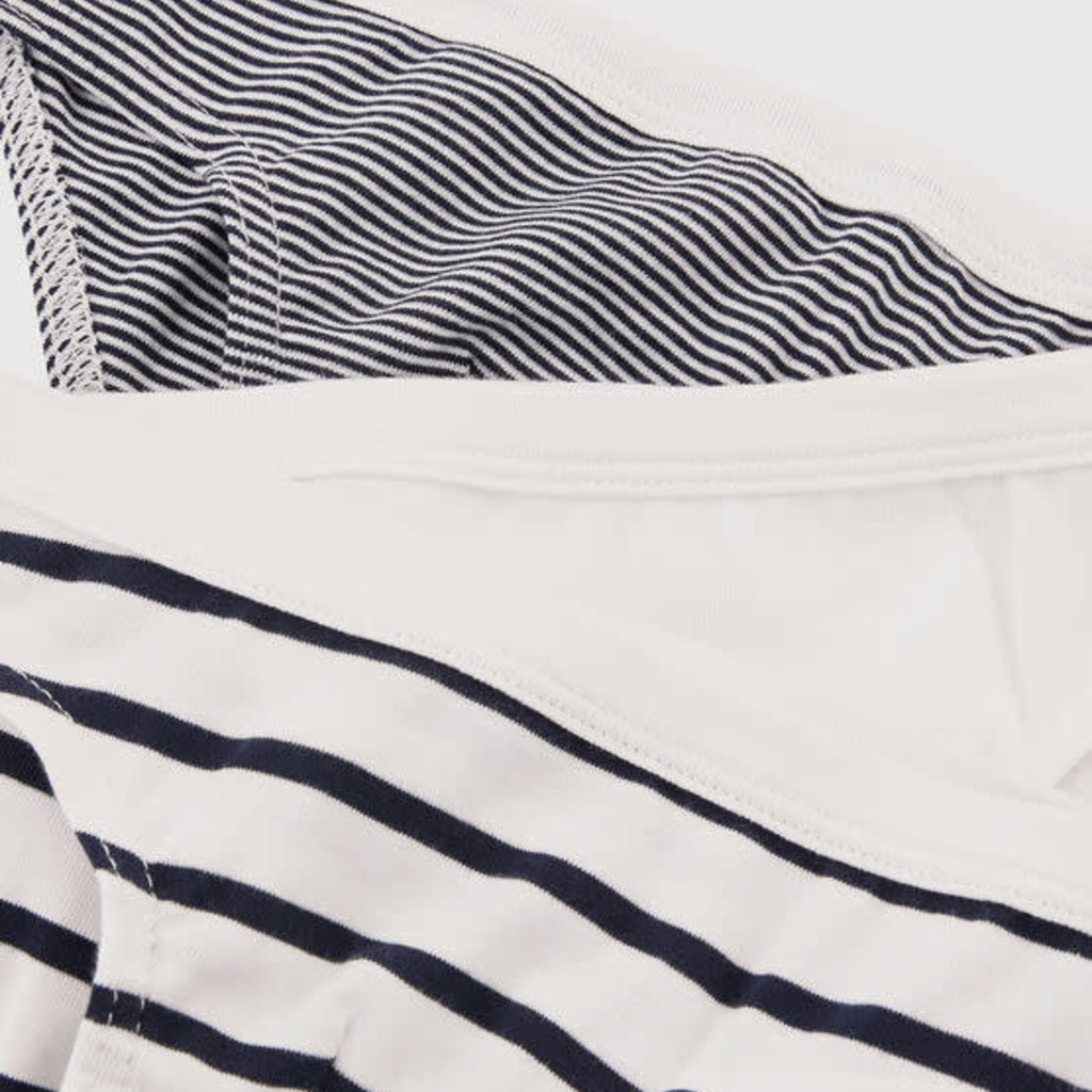 Petit Bateau  Boys' Striped Organic Cotton Briefs - 3-Pack