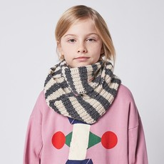 bobo choses Stripped knitted neck warmer