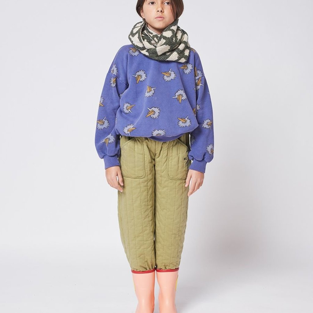 bobo choses  Painting knitted neck warmer