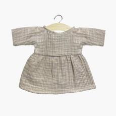 minikane Faustine dress in cotton double gauze