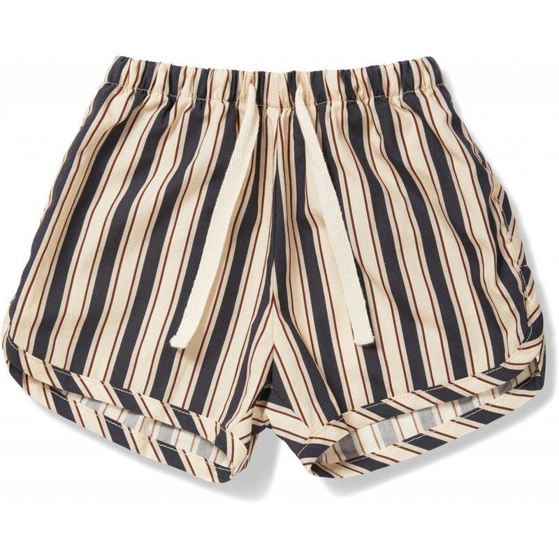 konges Sløjd Verbena shorts - Stripe Navy
