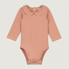 Gray Label Baby Collar Onesie