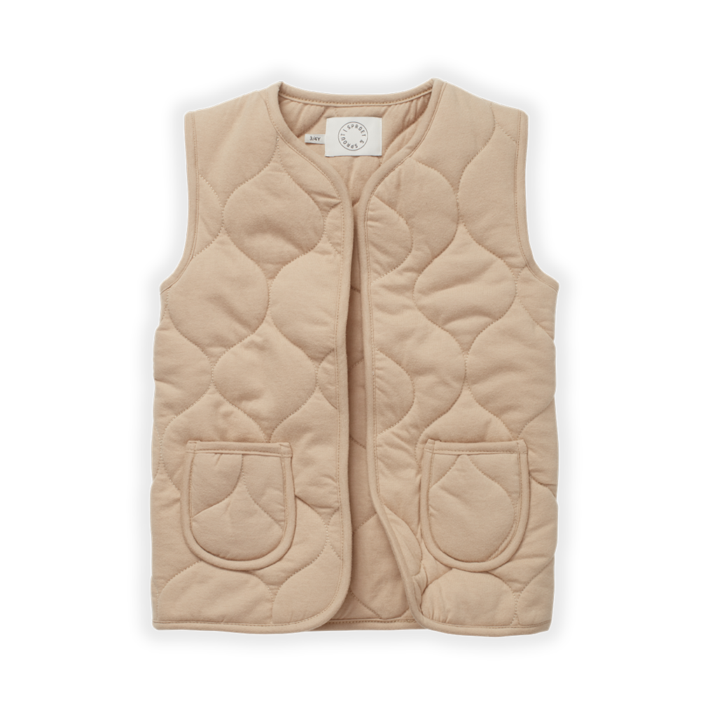 Sproet & Sprout Kids Quilted Gilet