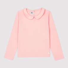 Petit Bateau Long-Sleeved Cotton T-Shirt