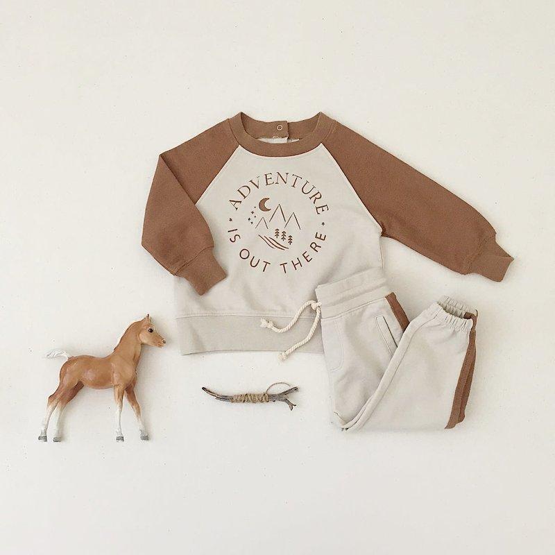 Rylee & Cru Raglan Sweatshirt