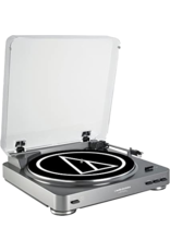 Audio-Technica Fully Automatic Belt-Drive Turntable AT-LP60 Silver