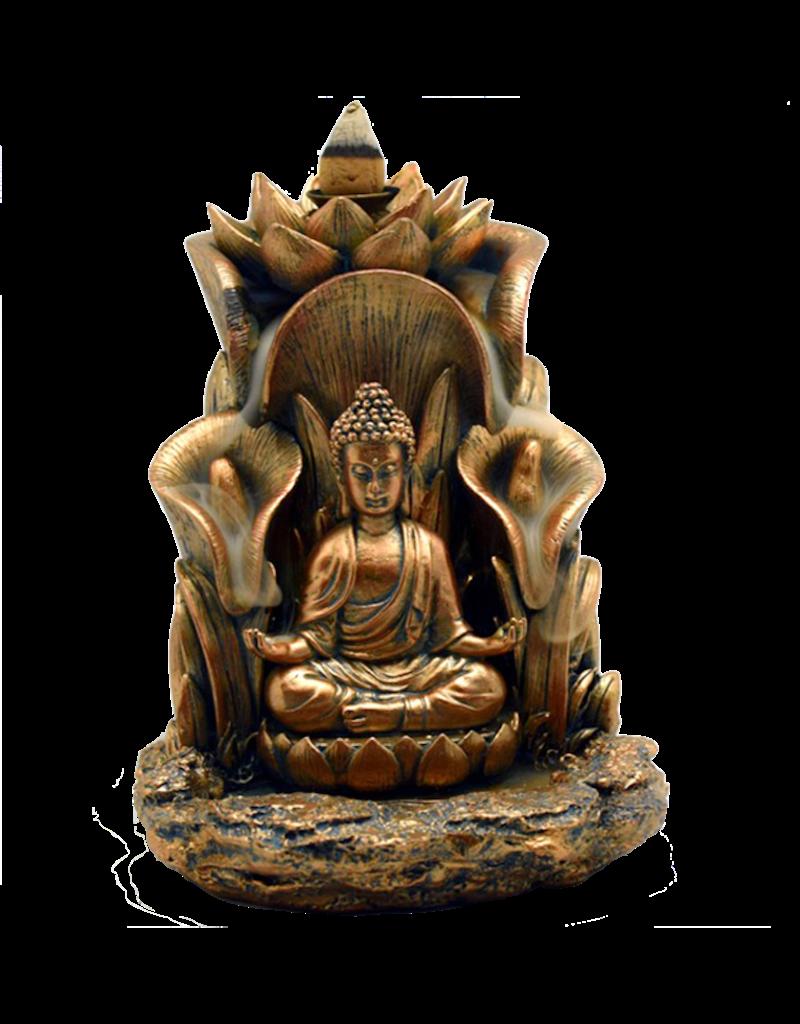 Buddha Backflow Incense Burner Mushroom New Orleans