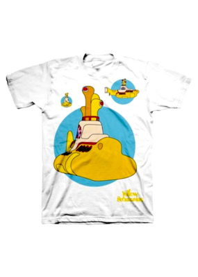 The Beatles - Yellow Submarine Crew T-Shirt