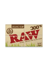 RAW Organic 300s 1 1/4 Rolling Papers