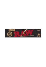 RAW Black King Slim Rolling Papers