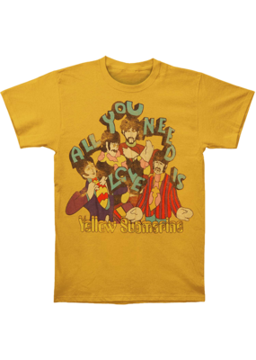 The Beatles - Yellow Submarine All You Need Is Love T-Shirt