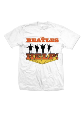 The Beatles - Help White T-Shirt