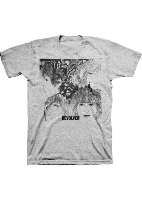 The Beatles - Revolver Grey T-Shirt