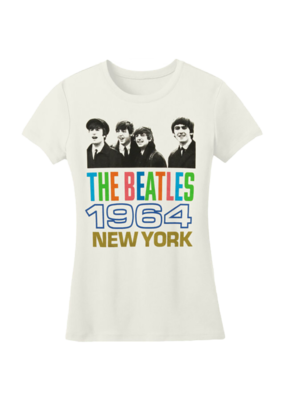 The Beatles - 1964 New York Women's T-Shirt