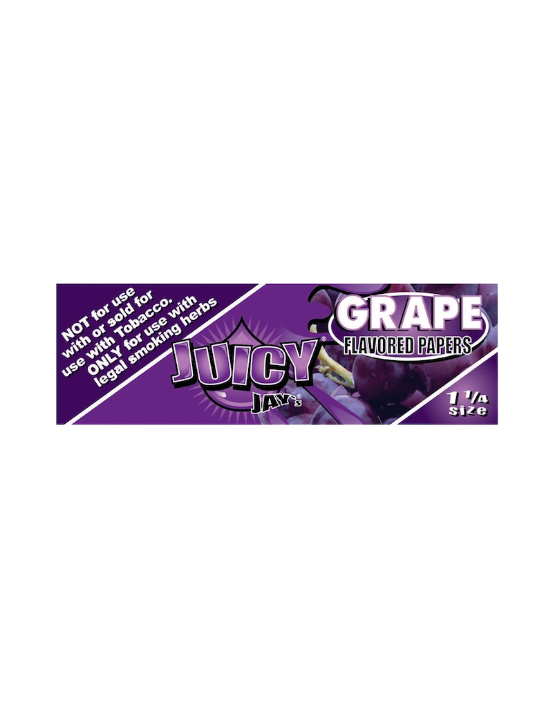 Juicy Jay's Grape 1 1/4 Rolling Papers