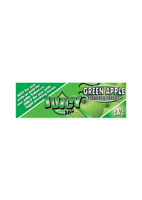Juicy Jay's Green Apple 1 1/4 Rolling Papers