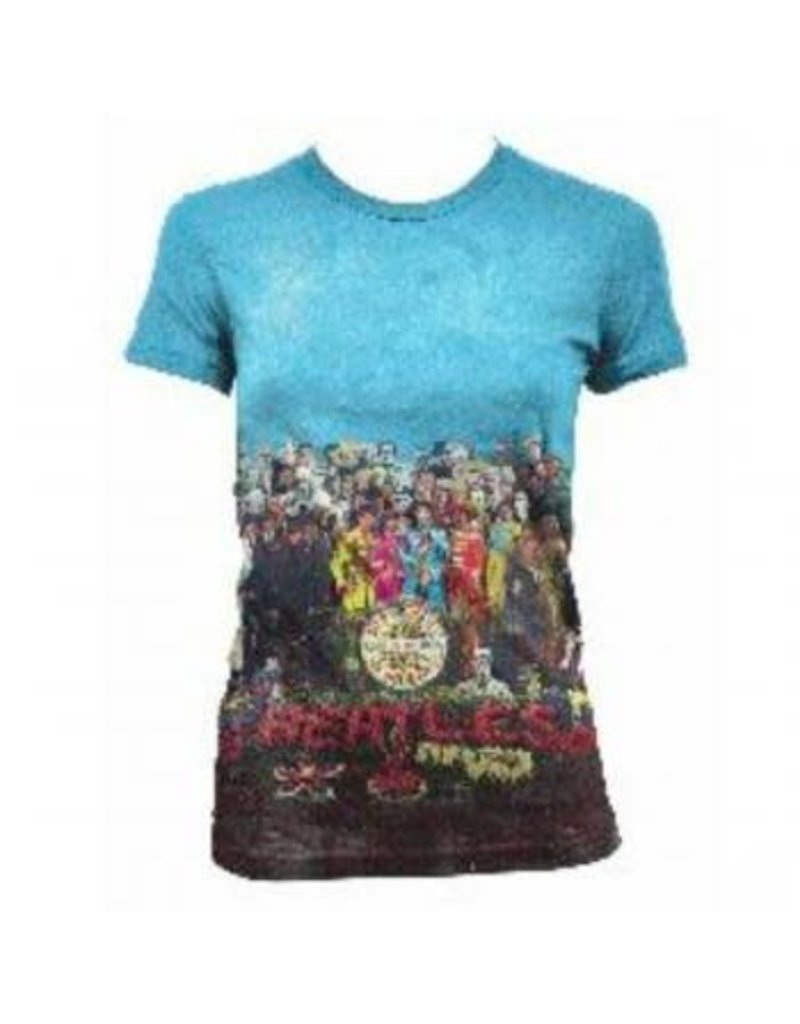 The Beatles - Sgt. Peppers Album All Over Women T-Shirt