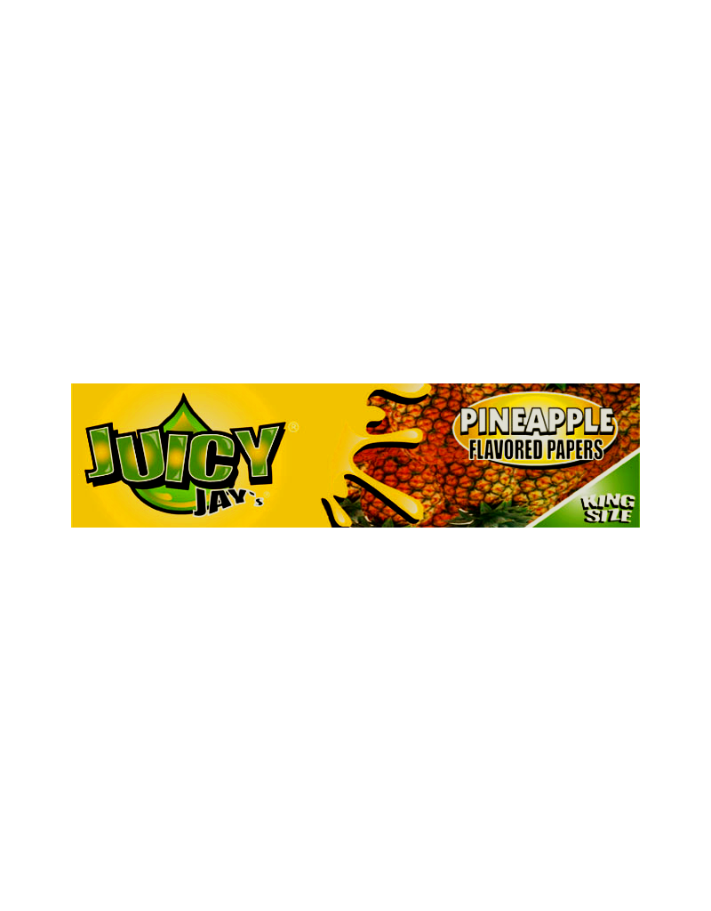 Juicy Jay's Pineapple King Size Rolling Papers
