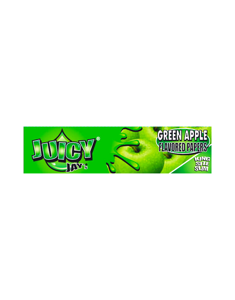 Juicy Jay's Green Apple King Size Rolling Papers