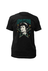 David Bowie Stars Fitted T-Shirt