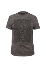 Joy Division Unknown Pleasures Heather Grey Fitted T-Shirt