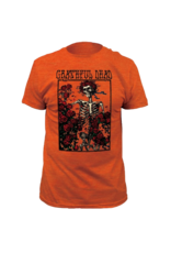 Grateful Dead Bertha Heather Orange Fitted T-Shirt