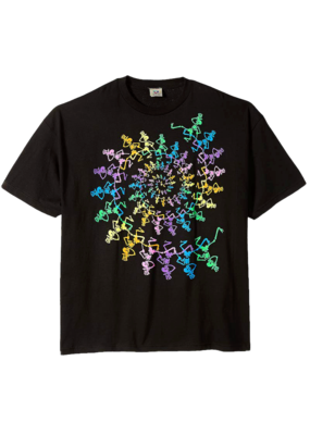 Grateful Dead Spiral Skeletons T-Shirt