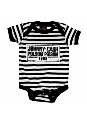 Johnny Cash - Folsom Prison Blues Baby Onesie