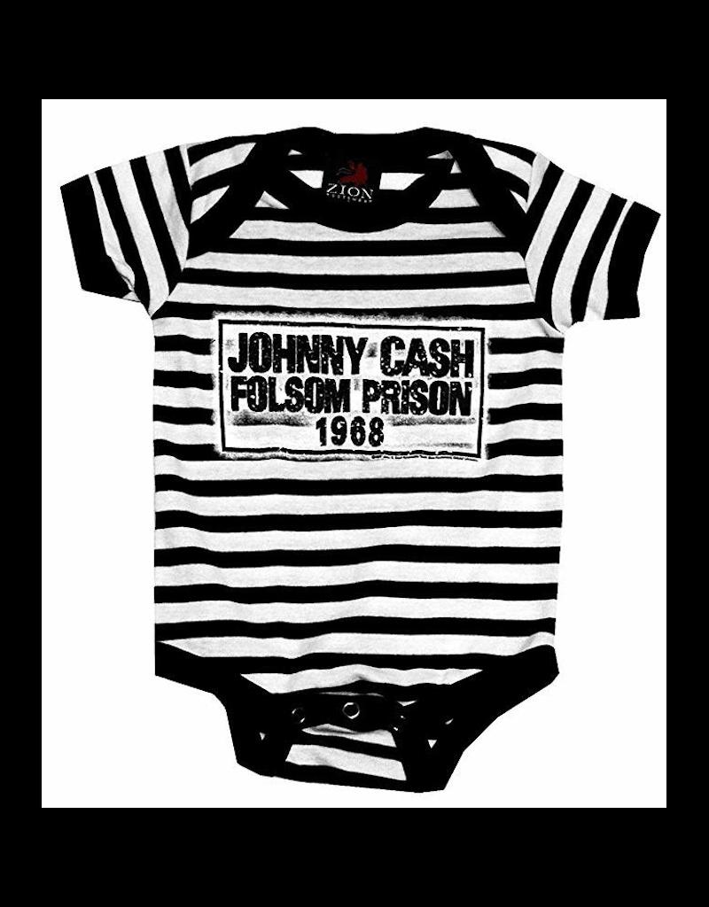 Johnny Cash - Folsom Prison Blues Baby Onesie