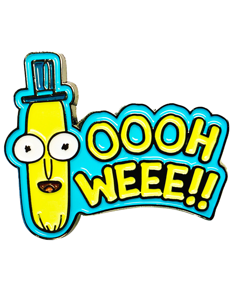 Rick And Morty Oooh Weee!! Hat Pin / Lapel Pin