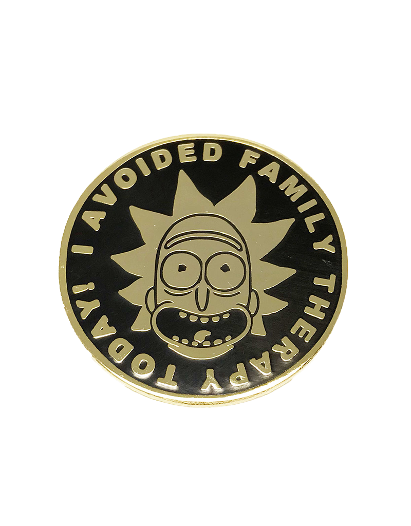 Rick And Morty Family Therapy Hat Pin / Lapel Pin
