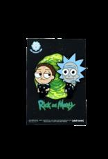 Rick and Morty Cop Hat Pin / Lapel Pin Set