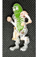 Pickle Rick Rat Mech Hat Pin / Lapel Pin