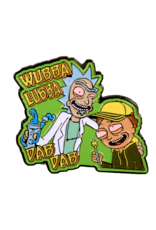 Rick And Morty Wubba Lubba Dab Dab Hat Pin / Lapel Pin