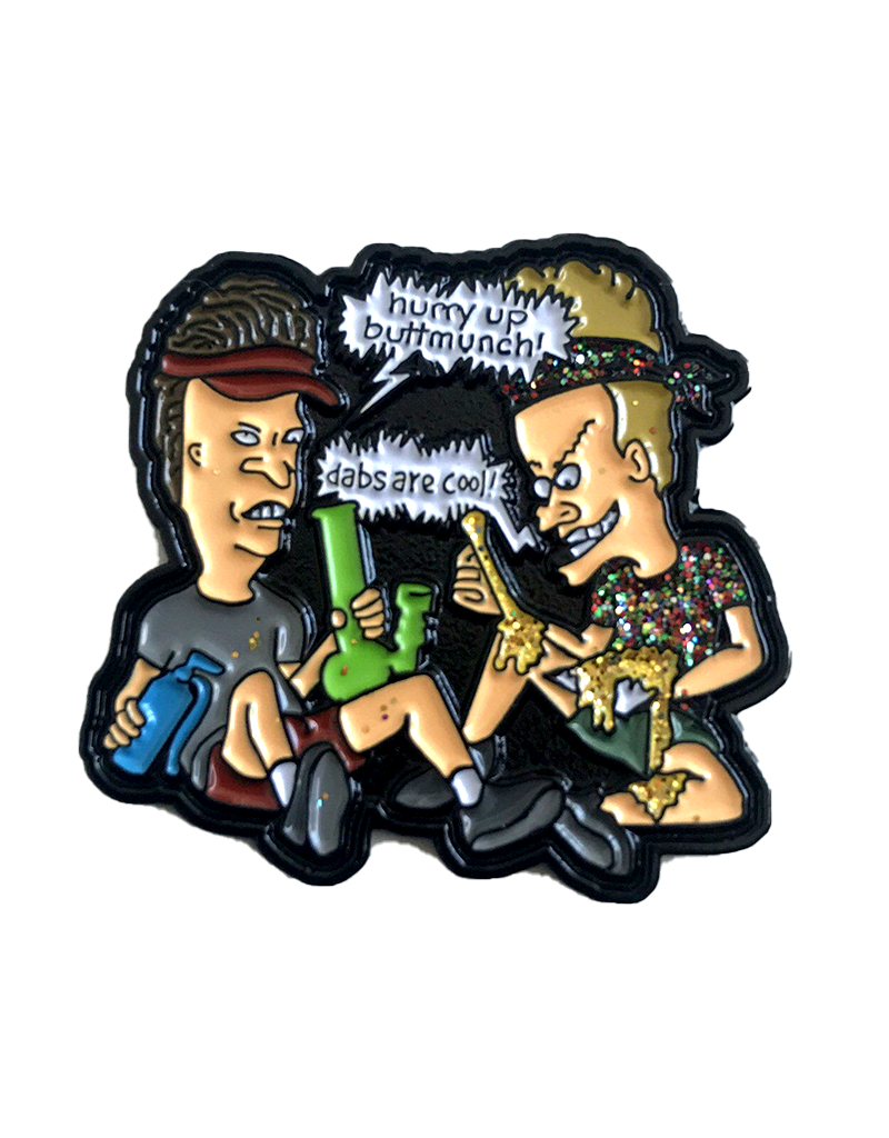 Beavis and Butthead Dabs are cool Hat Pin / Lapel Pin