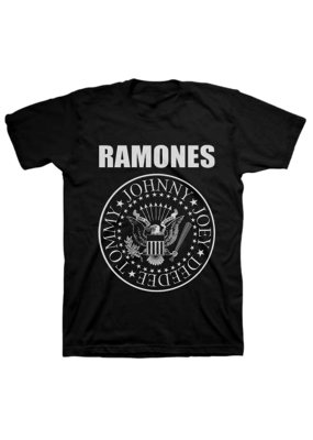 Ramones - Seal Logo T-Shirt