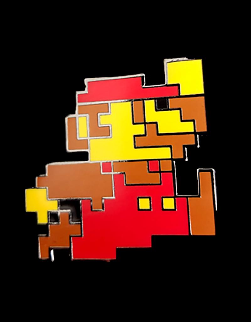 Pixel Mario Hat Pin / Lapel Pin