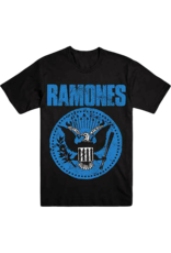 Ramones - Distressed Blue Presidential Seal Logo T-Shirt