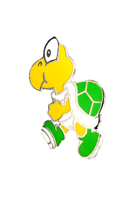 Mario Turtle Koopa Troopa Hat Pin / Lapel Pin