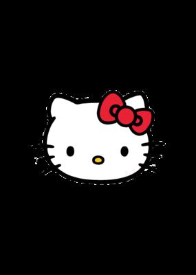 Hello Kitty Hi Cat Hat Pin / Lapel Pin