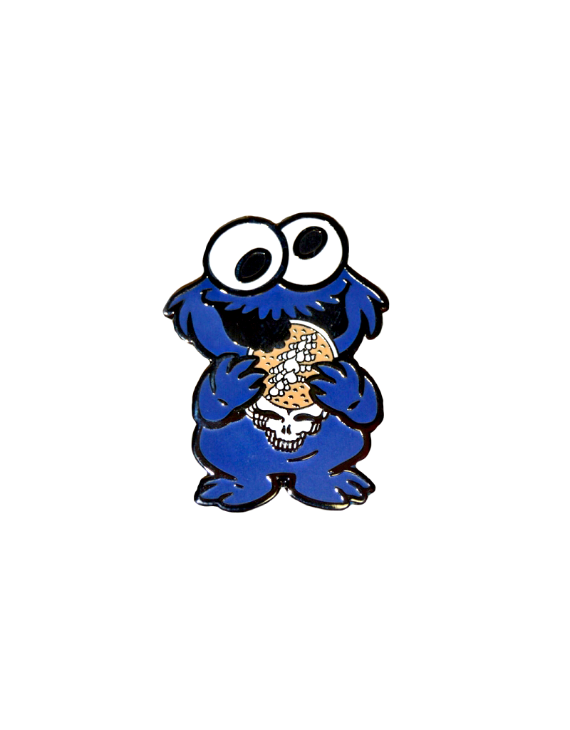 Grateful Dead Cookie Monster Hat Pin / Lapel Pin