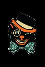 Creepy Co. Beistle Cat Top Hat Hat pin / Lapel Pin