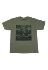 Tupac - Bold Army Olive T-Shirt