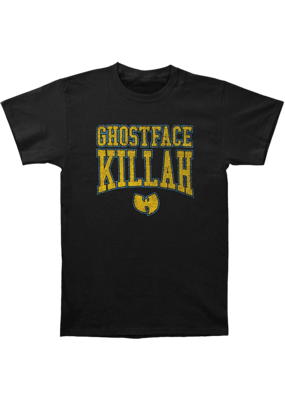 Ghostface Killah - Wu-Tang Gold Logo Fitted T-Shirt