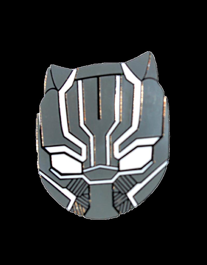 Black Panther Face Hat Pin / Lapel Pin
