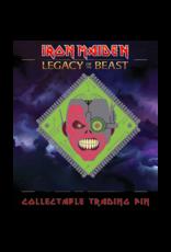 Iron Maiden Cyborg Eddie Hat Pin / Lapel Pin